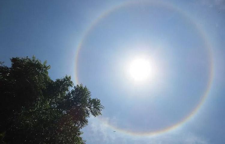 O que é halo solar? Saiba tudo sobre o maravilhoso fenômeno!