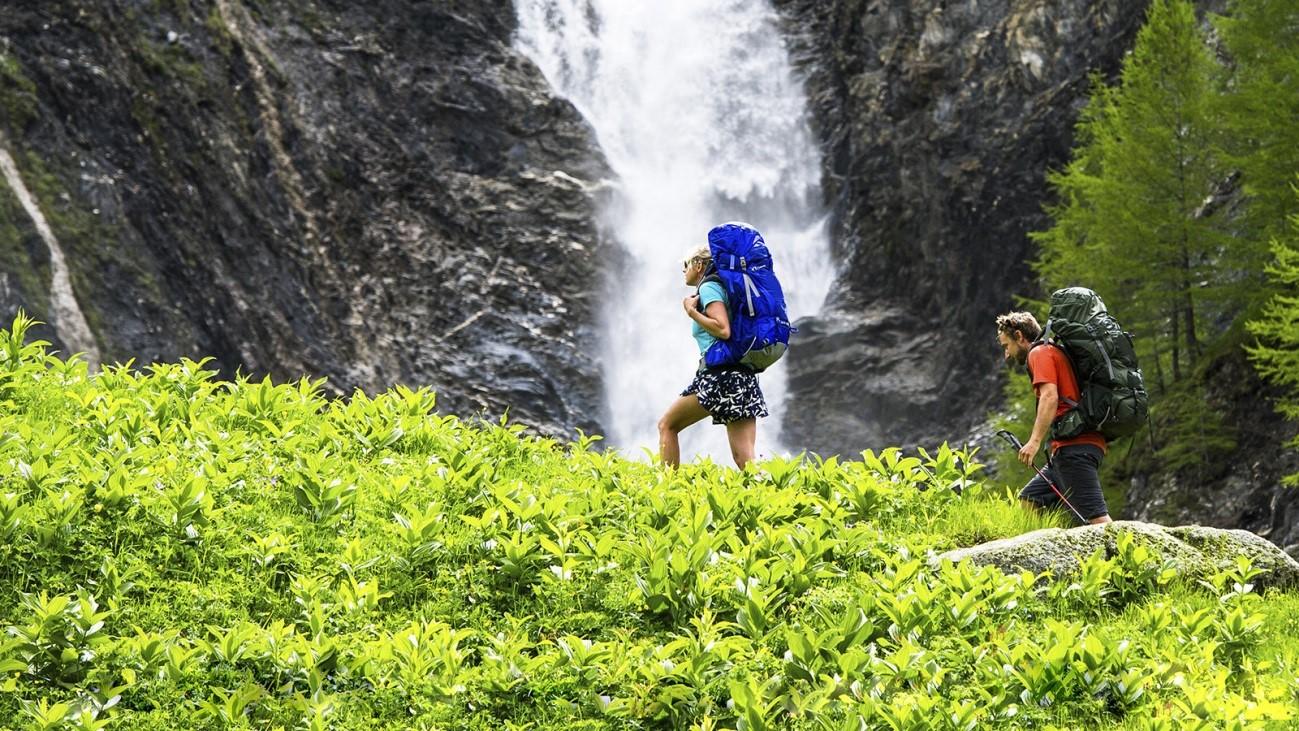 mochila de trekking